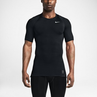 t shirt nike compression homme