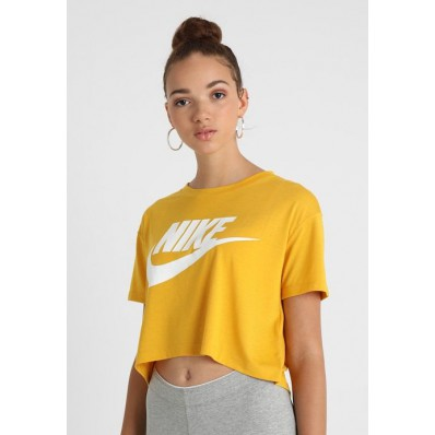 t shirt nike femme jaune
