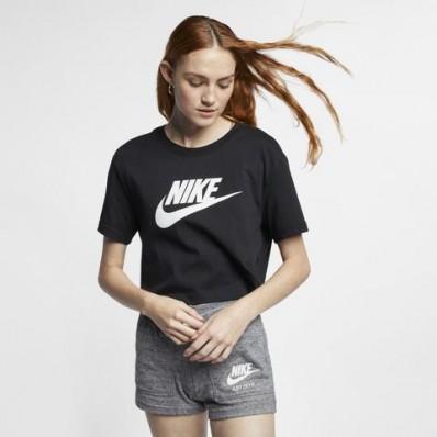 tee shirt nike femme noir