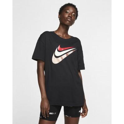 tee shirt nike noir femme