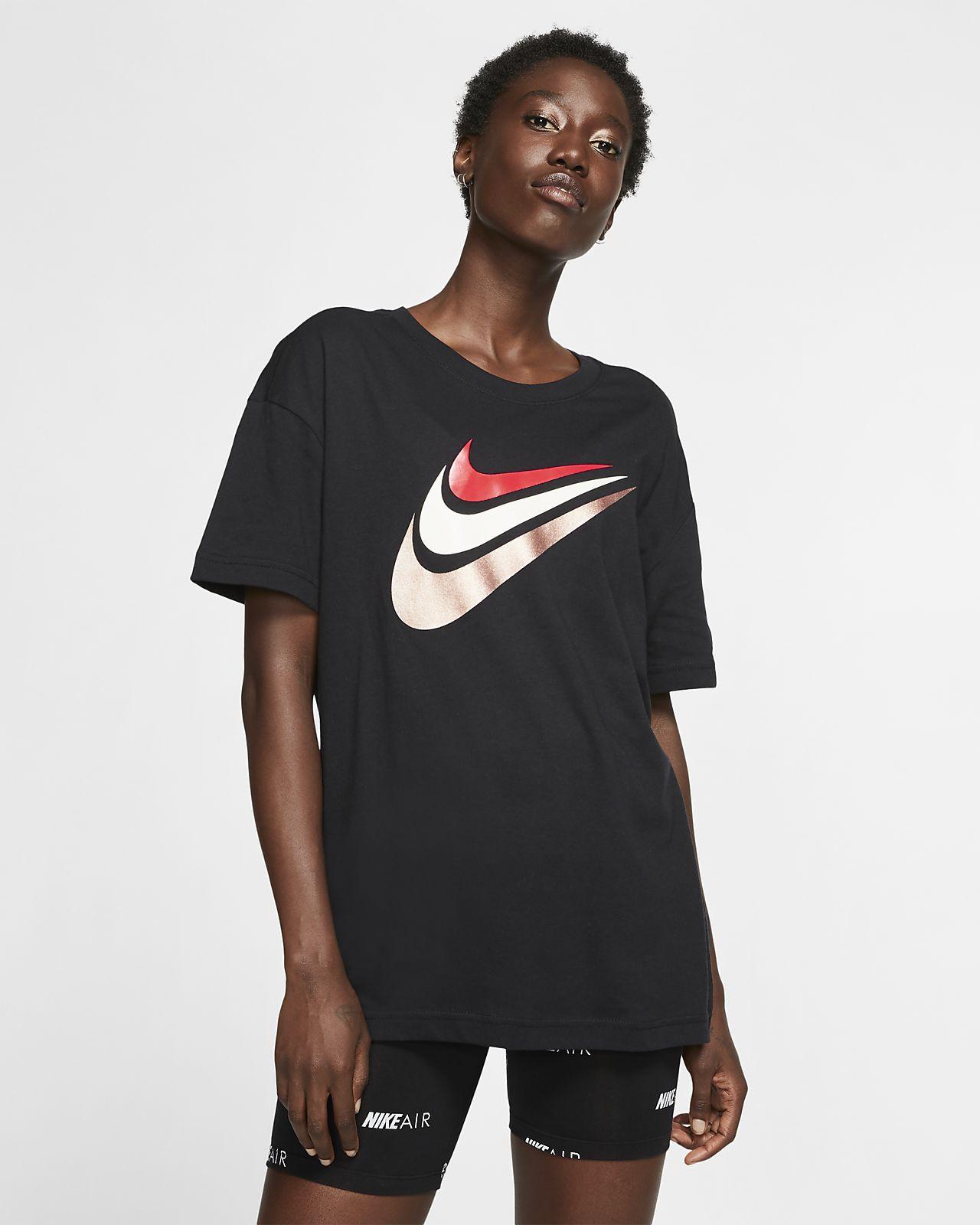tee shirt noir nike femme de course,Livraison gratuite!