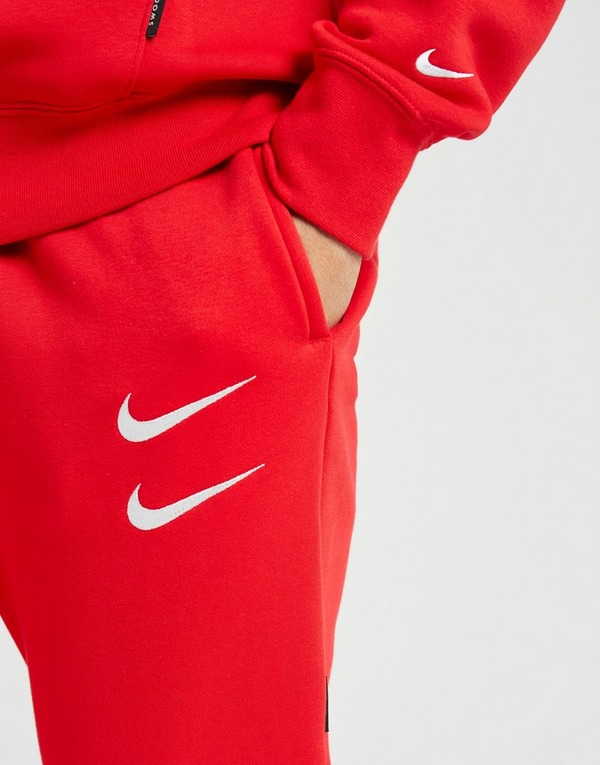 nike jogging double swoosh homme rouge